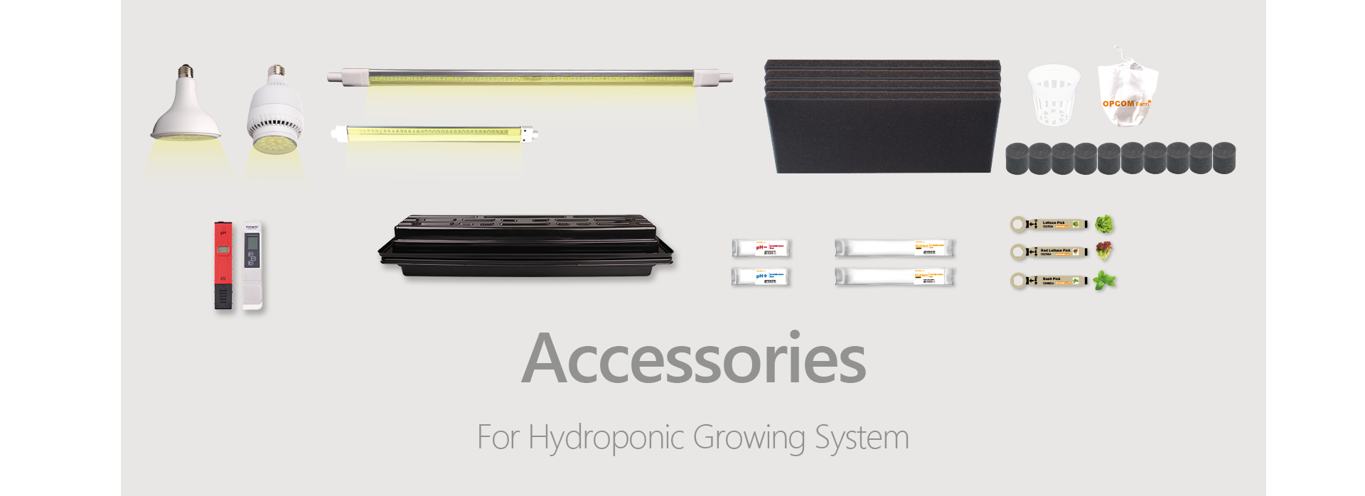 Accessories-Hydroponics,hydroponic grow system,For Hydroponic Growing System