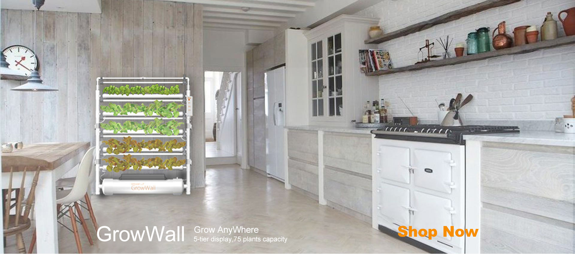 GrowWall-Hydroponics,hydroponic grow system,Grow Anywhere